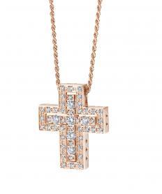 ベル エポック ピンクゴールド ダイヤモンド ネックレス